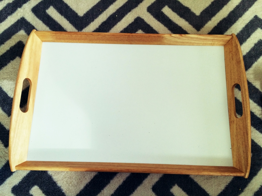 Serving Tray Makeover!
